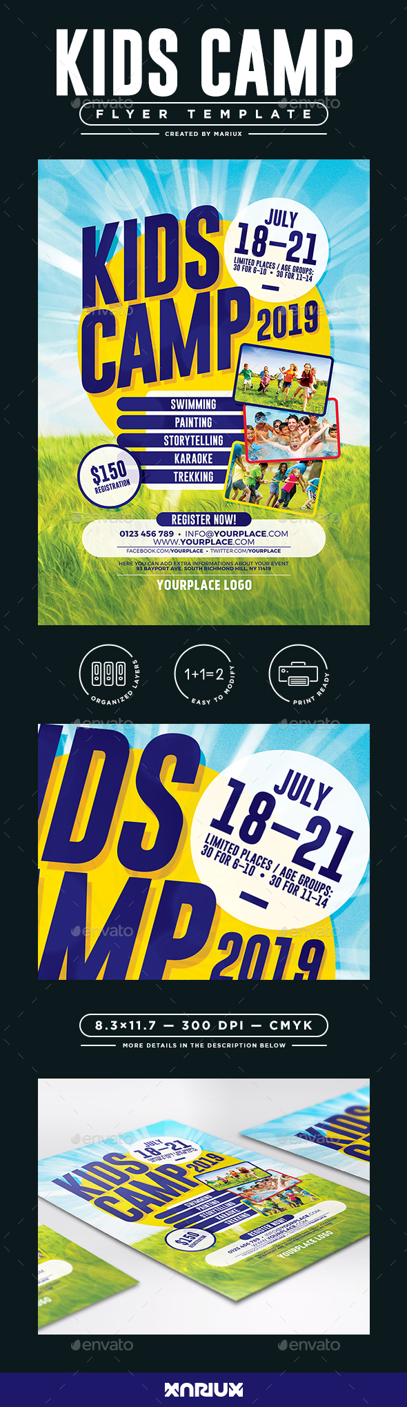 Kids Camp Flyer/Poster - Corporate Flyers