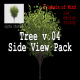 Tree v. 04 Side View Pack - VideoHive Item for Sale