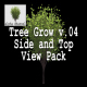 Tree Grow v. 04 Side and Top View Pack - VideoHive Item for Sale