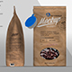 Kraft Paper Bag Mockup Left & Front Side View - GraphicRiver Item for Sale