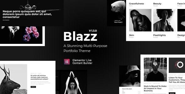 Image of Blazz - Creative Multi-Concept Portfolio WordPress Theme