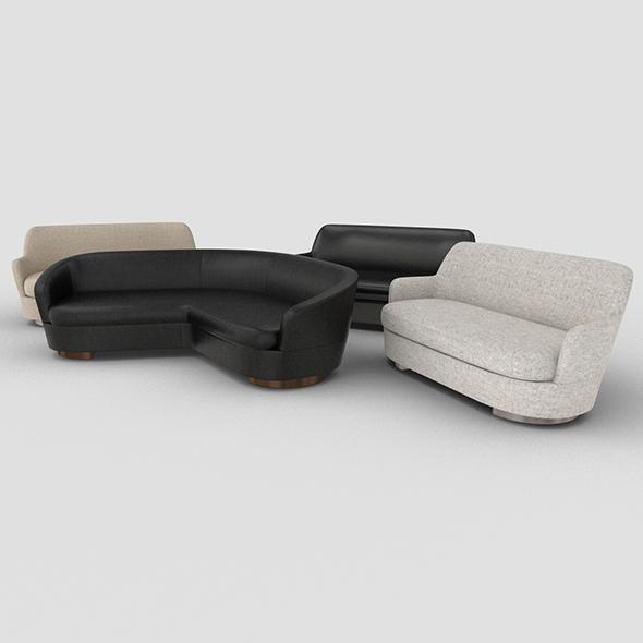JACQUES_sofa - 3DOcean Item for Sale