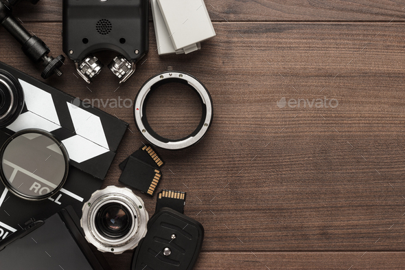 Different Video Equipment  - Stock Photo - Images