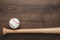 Baseball Bat And Ball  - PhotoDune Item for Sale