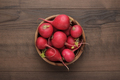Bowl Of Fresh Red Radishes  - PhotoDune Item for Sale