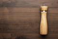 Wooden Salt Shaker On The Table  - PhotoDune Item for Sale