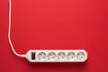 European 5-way Power Strip  - PhotoDune Item for Sale