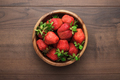 Strawberries On The Wooden Table  - PhotoDune Item for Sale