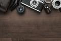Retro Film Camera And Some Lenses  - PhotoDune Item for Sale