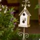 Decorative White Birdhouse - PhotoDune Item for Sale
