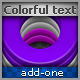 Colorful Layered Text - GraphicRiver Item for Sale