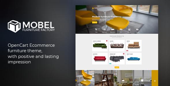 Image of Mobel - Furniture OpenCart Theme