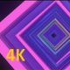 VJ VHS 80's Neon Colorful Tunnel - VideoHive Item for Sale