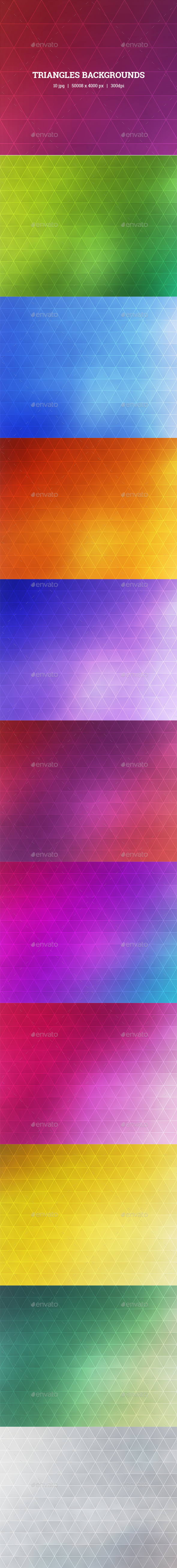 Triangles Backgrounds - Backgrounds Graphics