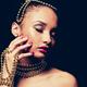 beautiful golden glamour woman - PhotoDune Item for Sale