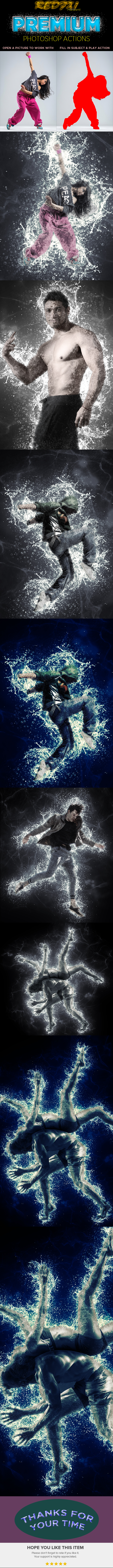 Gray Water Effect - Photo Effects Actions