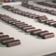 Rows of Chocolate Candies Moving Along the Factory Conveyor - VideoHive Item for Sale
