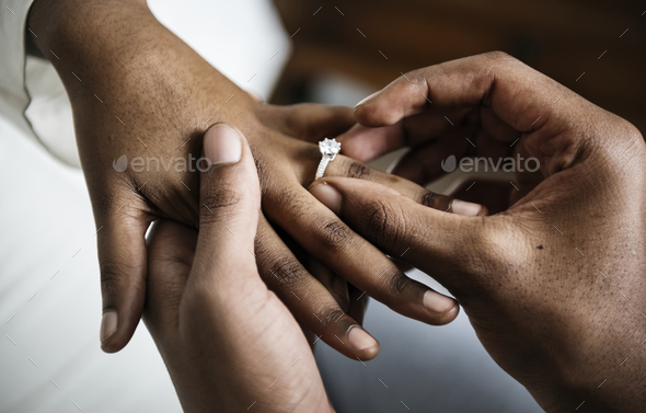 Man proposed for marriage - Stock Photo - Images