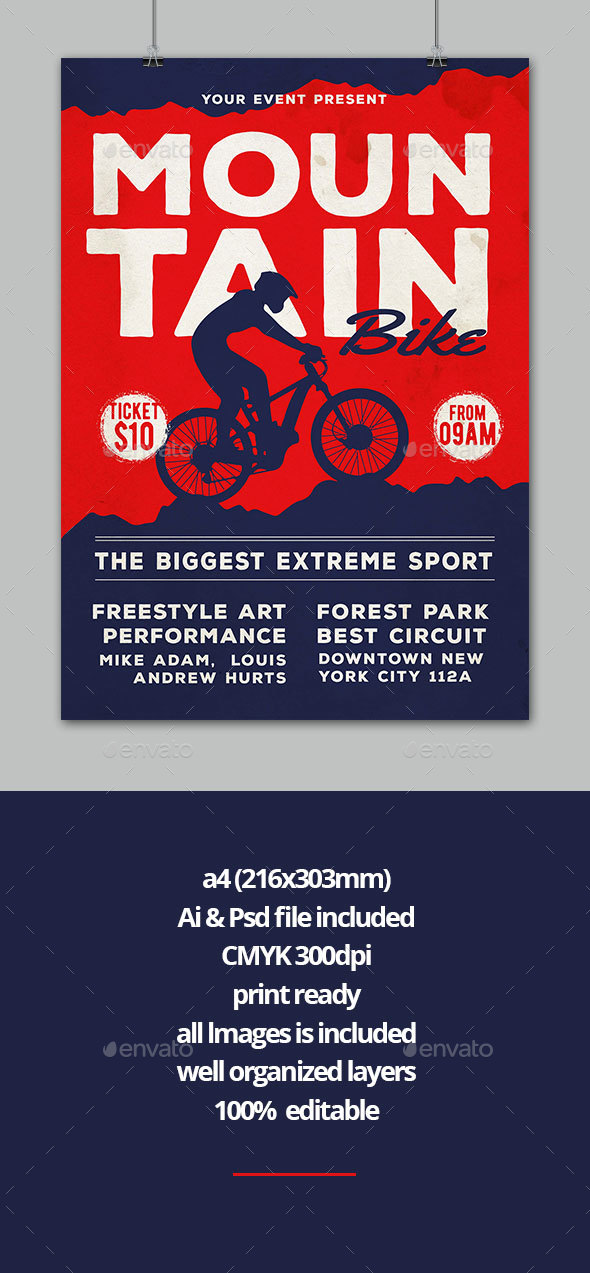 Mountain Bike - Sports Events