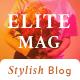 Elitemag - Stylish WordPress Blog and Magazine Theme - ThemeForest Item for Sale
