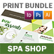 Spa Shop Print Bundle - GraphicRiver Item for Sale