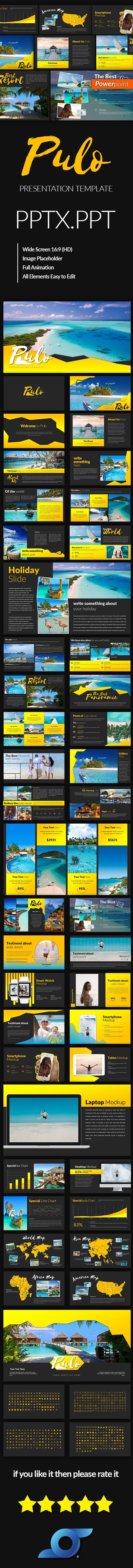 Pulo Powerpoint Template - Abstract PowerPoint Templates