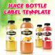 Juice Bottle Label Template - GraphicRiver Item for Sale