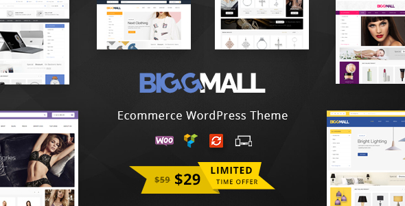 Image of BiggMall - Multipurpose WooCommerce Theme