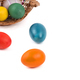 Easter eggs in a basket on a white background  - PhotoDune Item for Sale