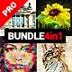 Abstractum - 4in1 Photoshop Actions Bundle - GraphicRiver Item for Sale