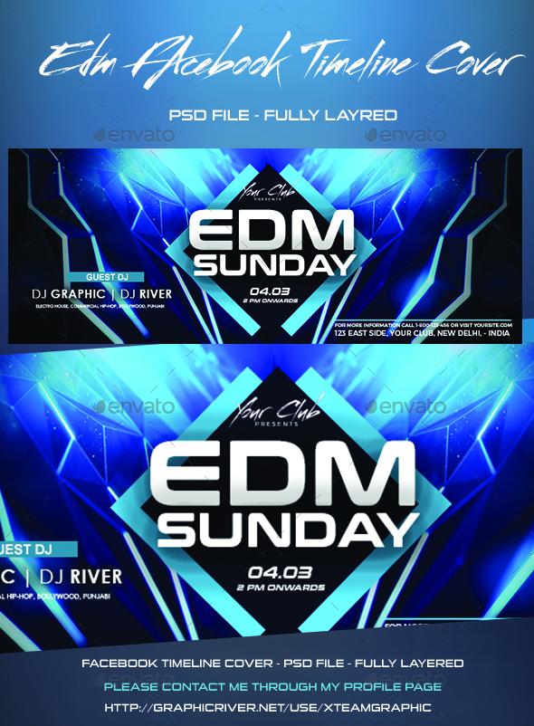 EDM Facebook Timeline Cover - Facebook Timeline Covers Social Media