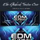 EDM Facebook Timeline Cover - GraphicRiver Item for Sale