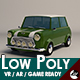 Low-Poly Cartoon Mini Cooper Car - 3DOcean Item for Sale