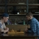 Two Clever Young Men Playing Chess Game at Home - VideoHive Item for Sale