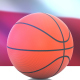 Basketball with Poland Flag - VideoHive Item for Sale