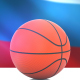 Basketball with Russian Flag - VideoHive Item for Sale