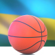 Basketball with Rwanda Flag - VideoHive Item for Sale