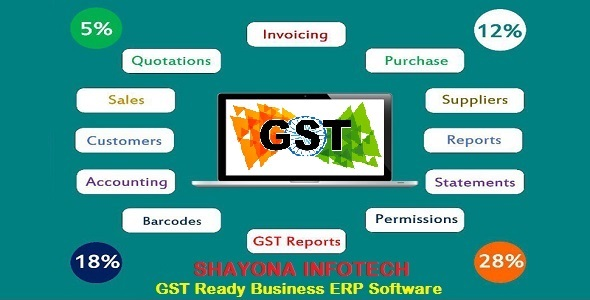 GST Ready Business ERP Software - CodeCanyon Item for Sale