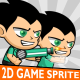 Cool Boy 2D Game Character Sprite - GraphicRiver Item for Sale