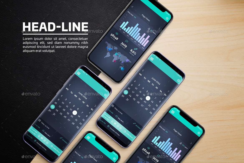 Android & iOS Mockup