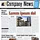Newspaper template - two pages A3 - GraphicRiver Item for Sale