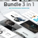 Bundle 3 in 1 - Creative n Minimal Google Slide Template - GraphicRiver Item for Sale