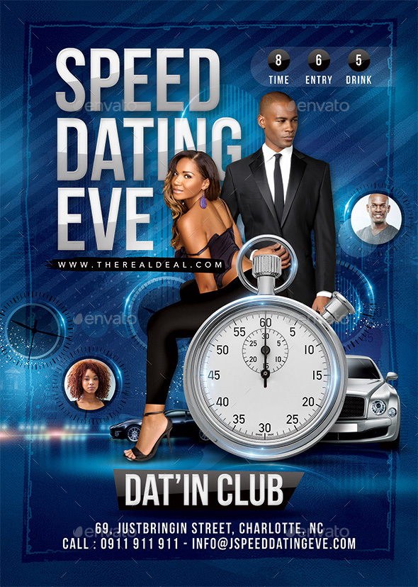 Speed Dating - Events Flyers