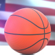 Basketball with United States Flag - VideoHive Item for Sale