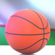 Basketball with Uzbekistan Flag - VideoHive Item for Sale