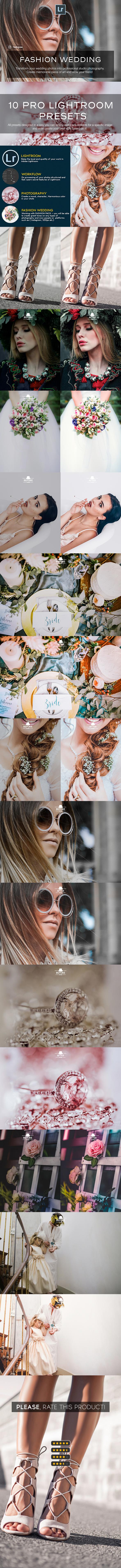Fashion Wedding Lightroom Presets - Wedding Lightroom Presets