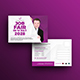 Job Fair Postcard Template - GraphicRiver Item for Sale