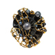 golden brooch with pearls and diamonds - PhotoDune Item for Sale