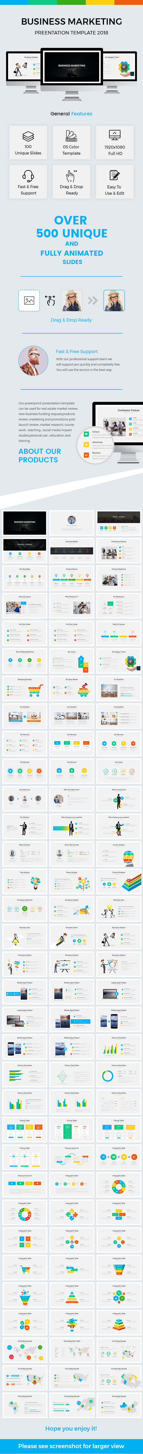 Business Marketing Powerpoint Template 2018 - Business PowerPoint Templates