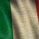 Burlap Flag of Italy - VideoHive Item for Sale